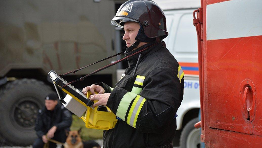 В Кабардино-Балкарии в здании сельской школы произошел пожар