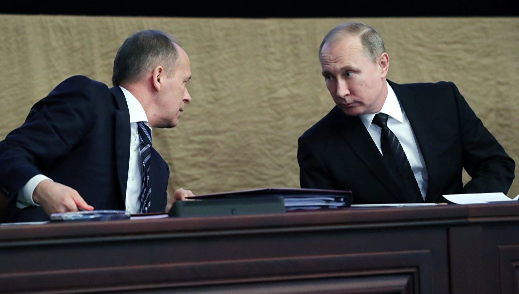 Путин примет участие в совещании коллегии ФСБ 5марта