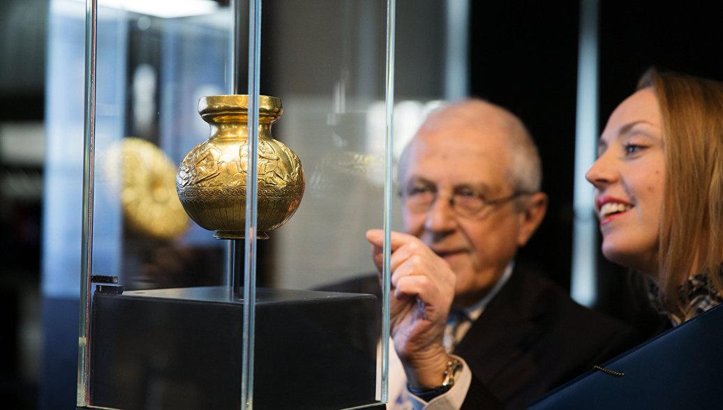 В крымском музее опровергли сообщения о передаче золота скифов Украине