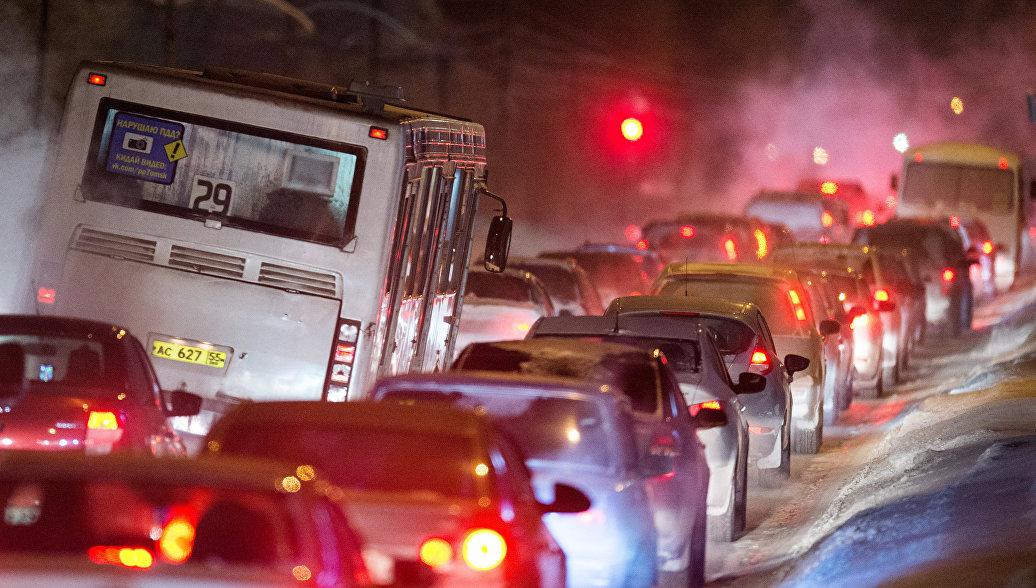 В Хабаровском крае ограничили движение автобусов из-за снегопада