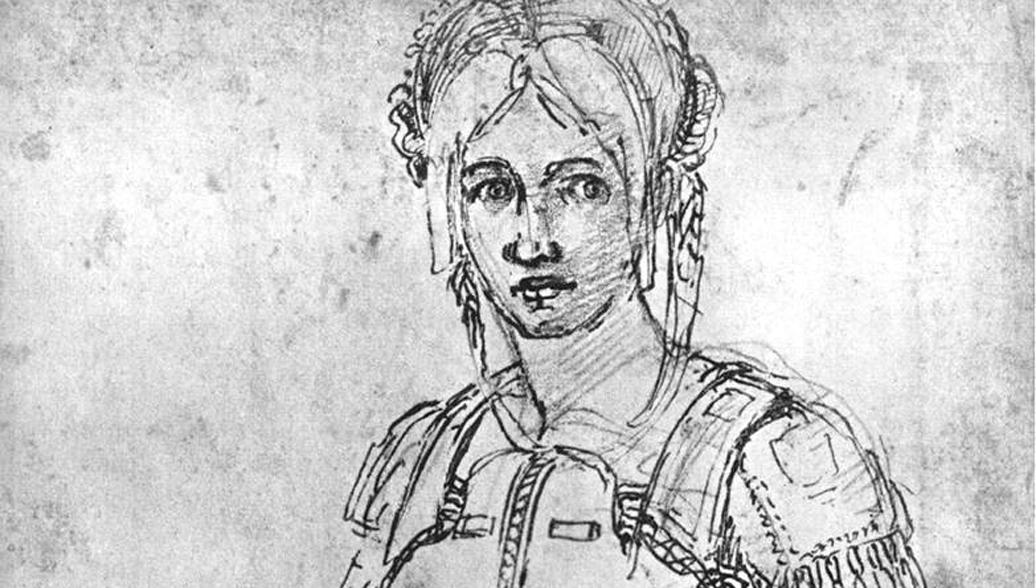 В Британском музее обнаружили скрытый автопортрет Микеланджело