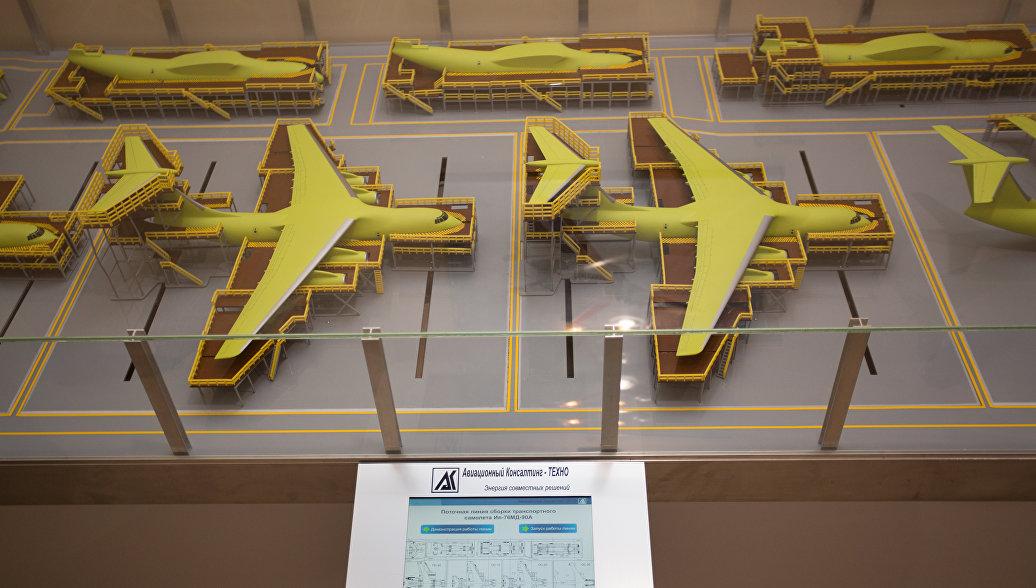 ОАК начала монтаж первой российской линии роботизированной сборки самолетов