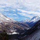 Снегопад в горах Кабардино-Балкарии создает высокую угрозу схода лавин