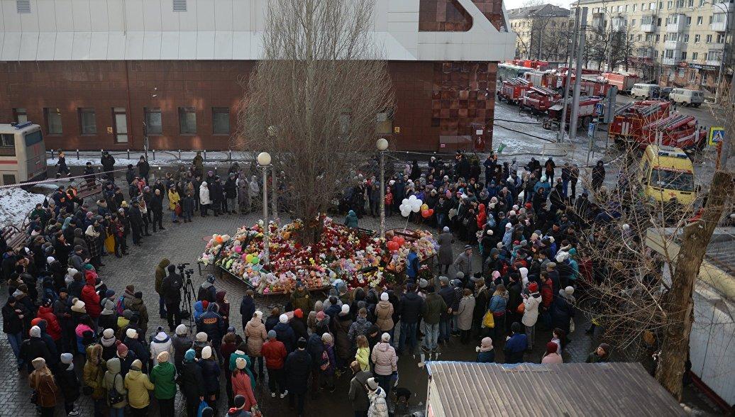 СК опросит детей, находившихся в игровой зоне ТЦ в Кемерово во время пожара