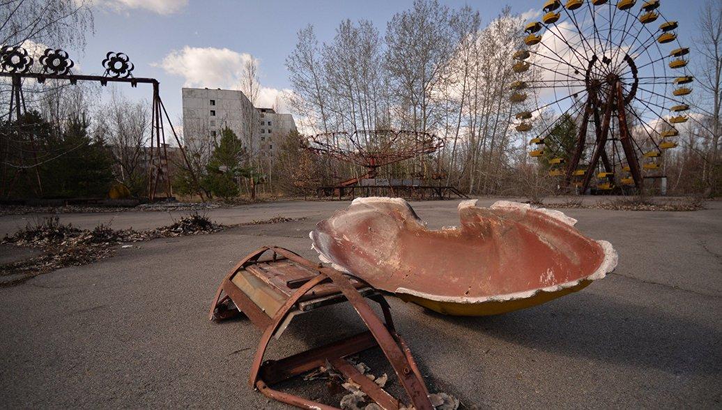 Первые ликвидаторы Чернобыльской аварии: