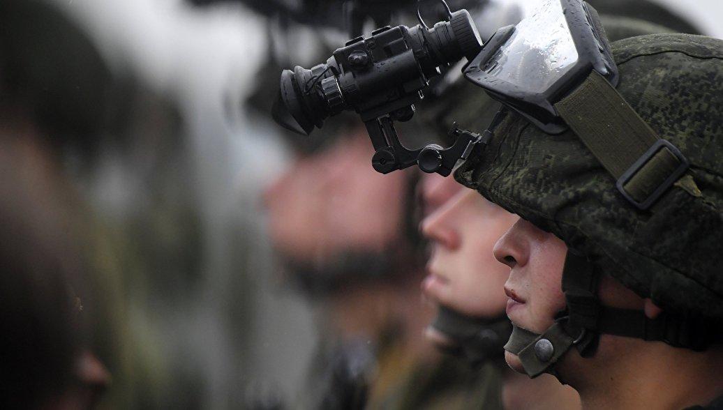 Российские и белорусские десантники начали учения на полигоне Брестский