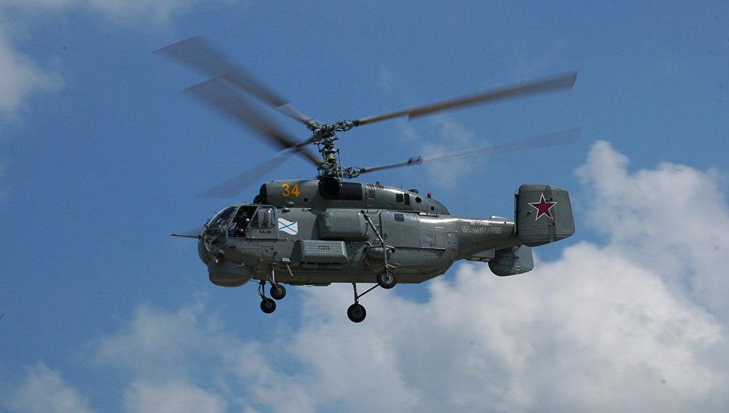 В Балтийском море разбился вертолет Ка-29, погибли два летчика