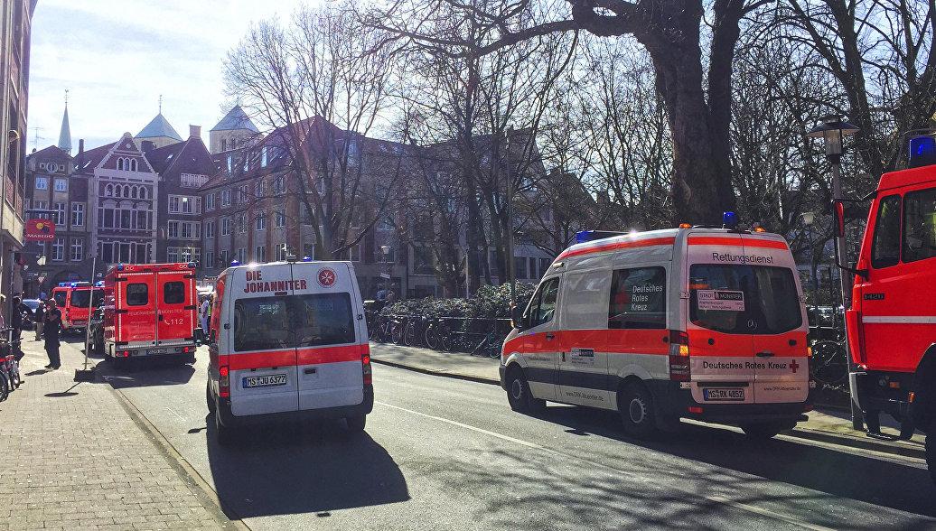 Немецкая полиция рассматривает версию теракта, сообщили СМИ