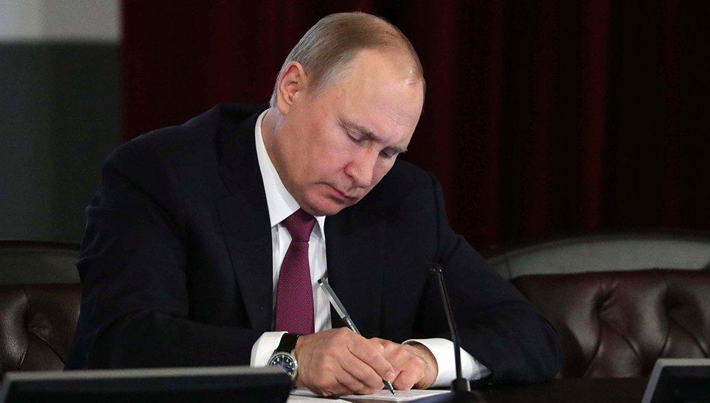 Путин подписал закон о льготах для производителей мультфильмов