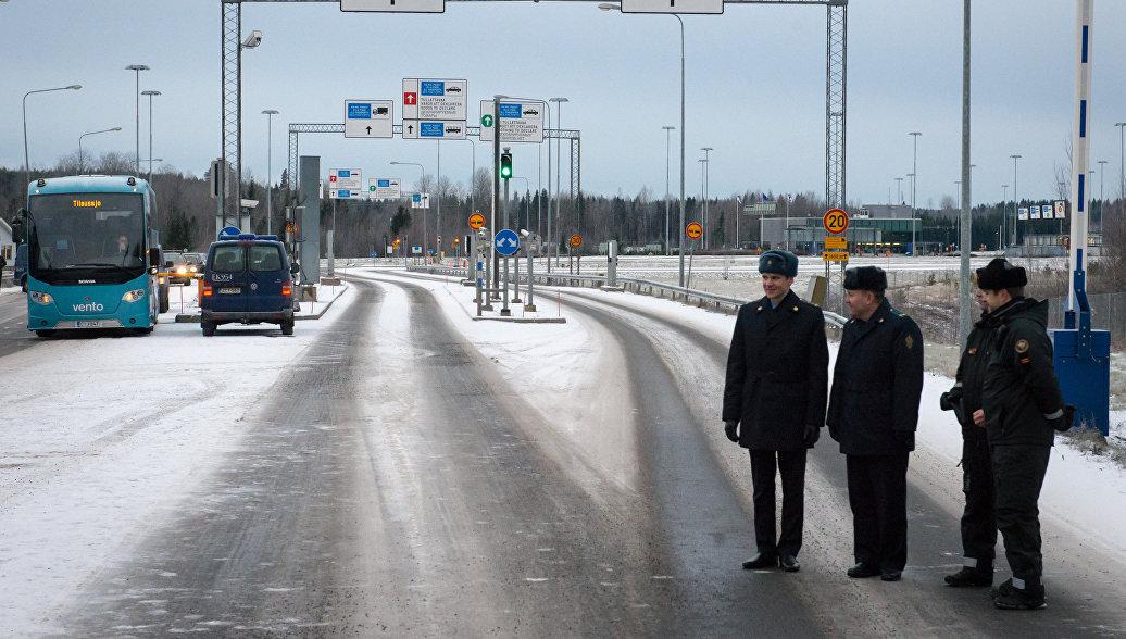 Новое приложение поможет сэкономить время на границе с Финляндией