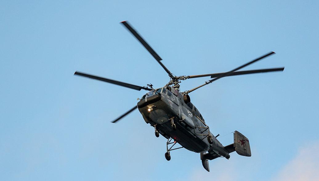 После крушения вертолета Ка-29 в Балтийском море возбудили уголовное дело