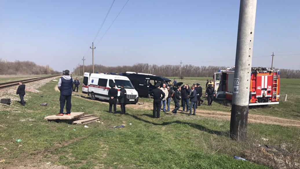 Число пострадавших при ДТП с поездом и маршруткой в Крыму выросло до семи