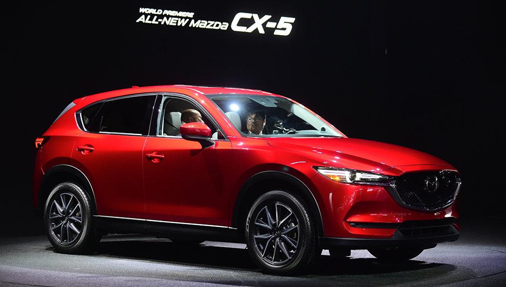 Mazda отзывает в России более 20 тысяч машин СX-5