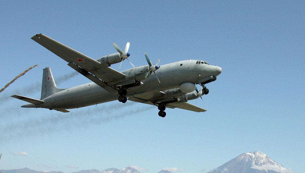 Готовящийся к аварийной посадке в Жуковском Ил-38 принадлежит ВМС Индии