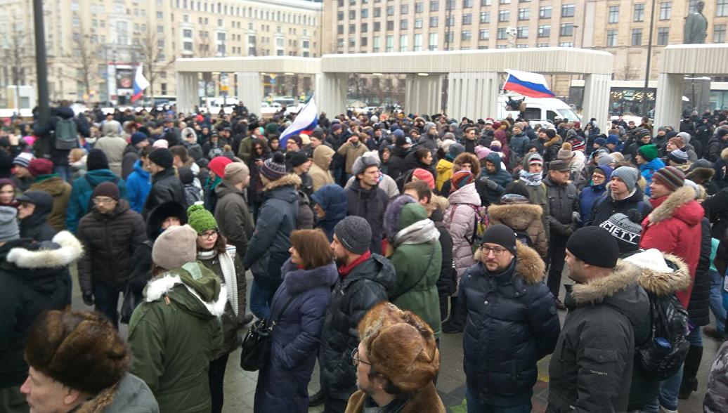 Эксперты рассказали, как свести к минимуму протестные риски в России