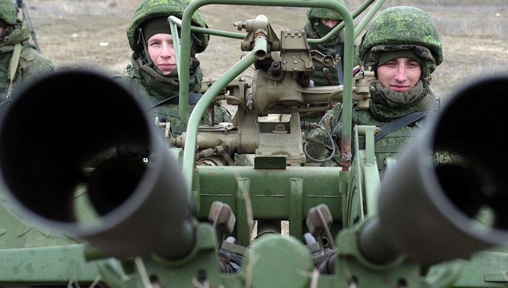 Зенитчики ЮВО на Кубани учатся прикрывать войска от воздушного нападения