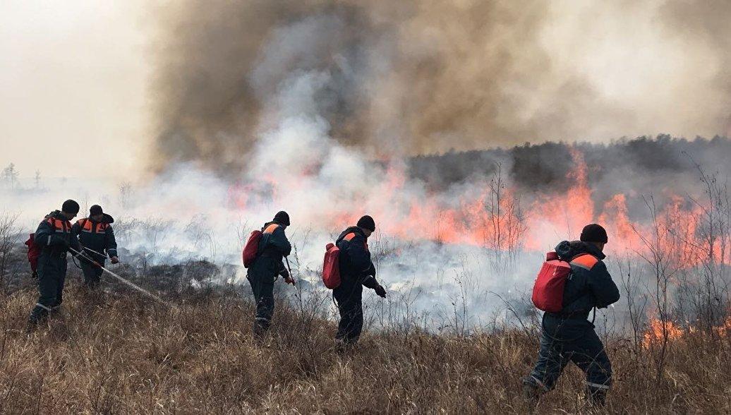 В одном из районов Хабаровского края ввели особый противопожарный режим