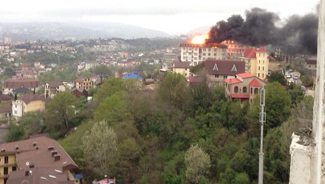 Пожар в Сочи полностью ликвидирован