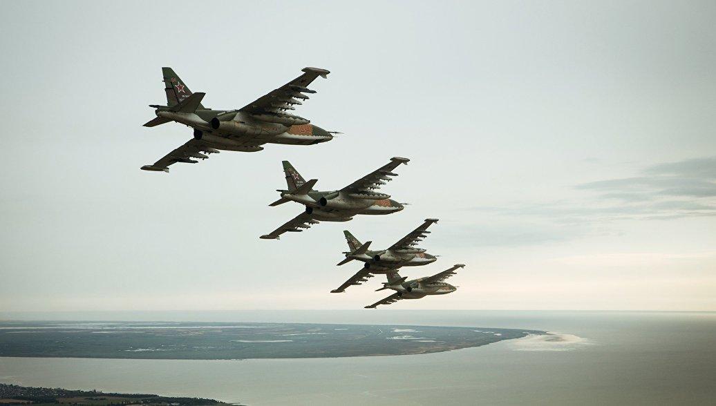 Штурмовую авиацию ЮВО пополнили новейшие Су-25СМ3