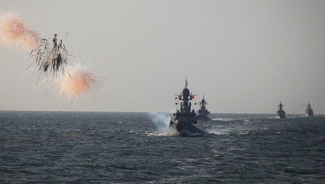 Адмирал объяснил значение передислокации Каспийской флотилии