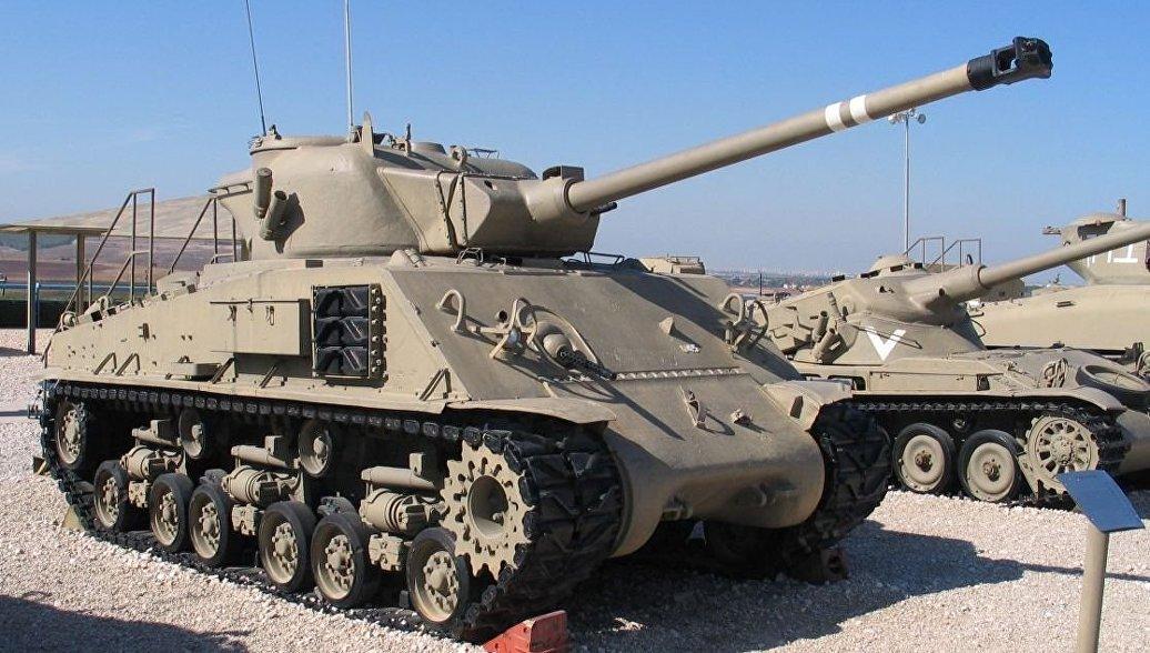 В Приморье восстанавливают поднятый из Баренцева моря американский танк