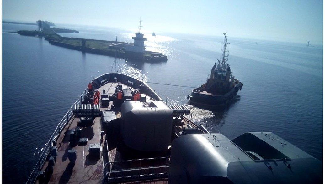 Учебный корабль ВМФ