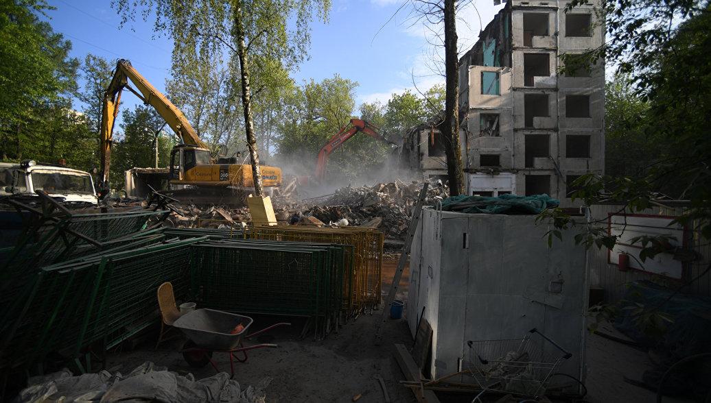 Подмосковье сможет принять до 15 млн тонн мусора от реновации жилья Москвы