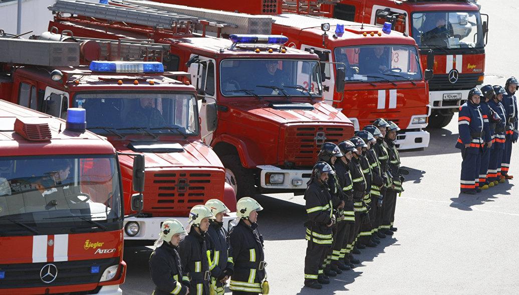 МЧС назвало среднее время реагирования российских пожарных на вызов