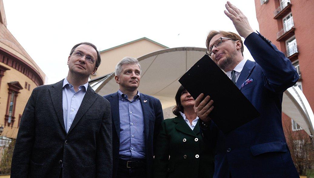 Мединский и Кибовский открыли акцию