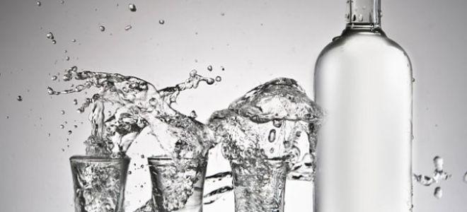 Какой спирт используется при производстве водки
