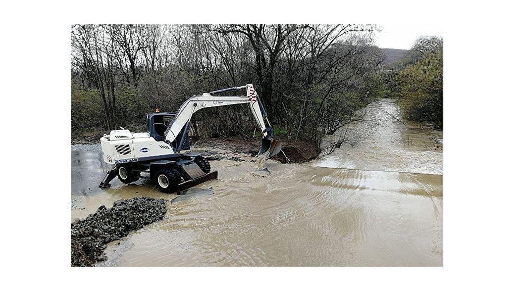 В Хабаровском крае вода ушла из подтопленного поселка