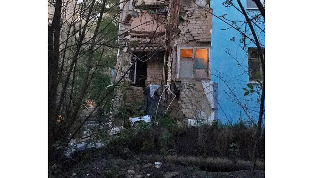 В Саратове частично обрушился пятиэтажный дом