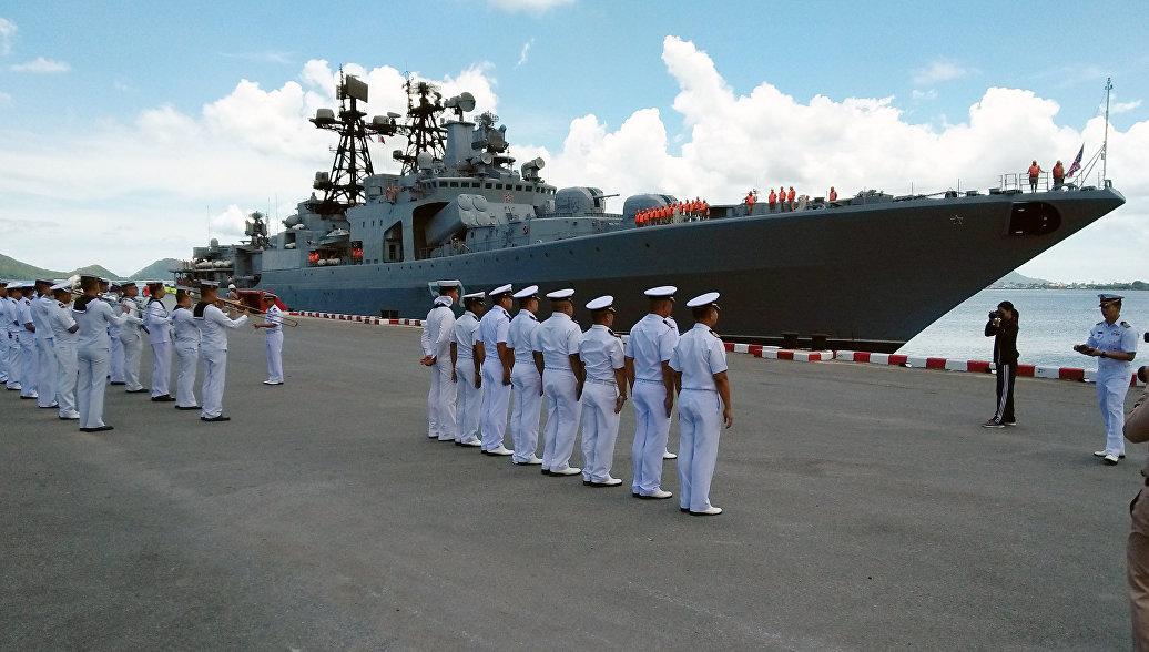 Корабли Тихоокеанского флота завершили визит в Таиланд