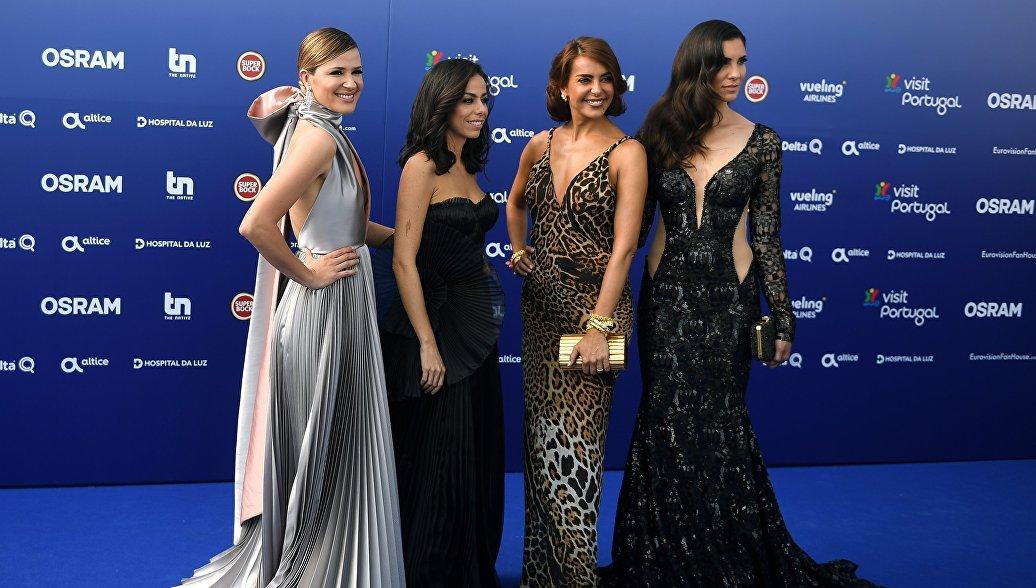 Первые финалисты Евровидения рассказали о впечатлениях