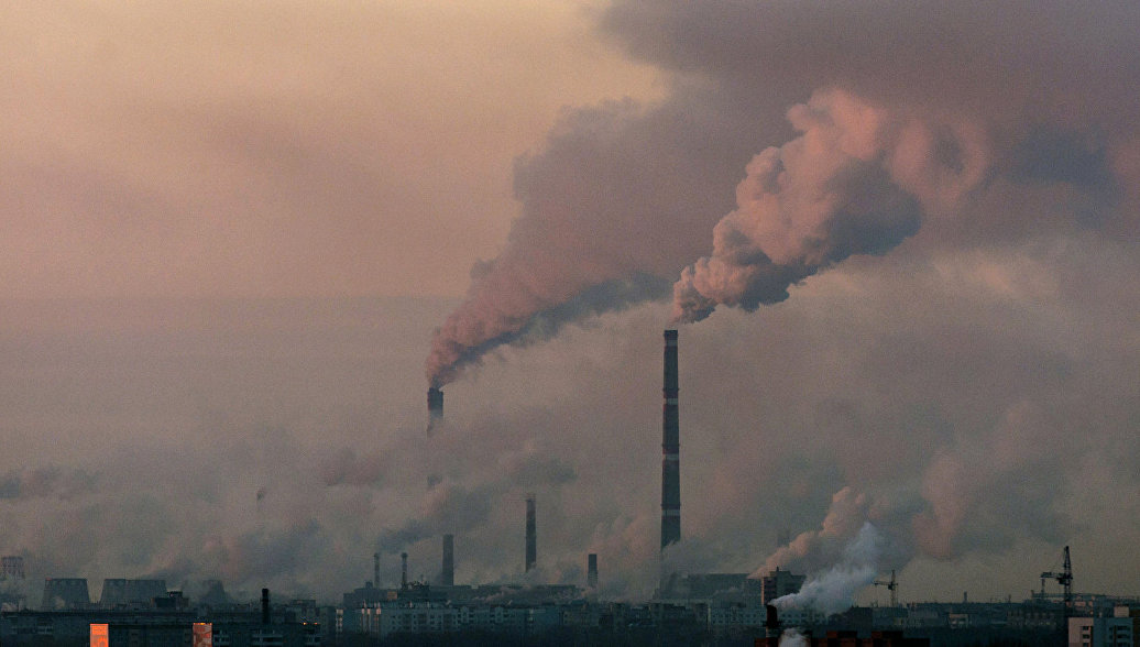 Ученые зафиксировали рекордную концентрацию углекислого газа в атмосфере