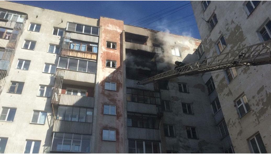 В Екатеринбурге 11 человек пострадали при пожаре в жилом доме