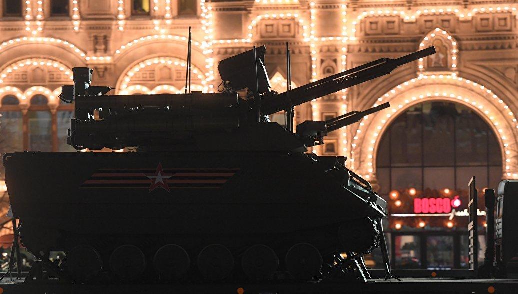 Большая часть техники на Параде Победы прошла боевые испытания в Сирии