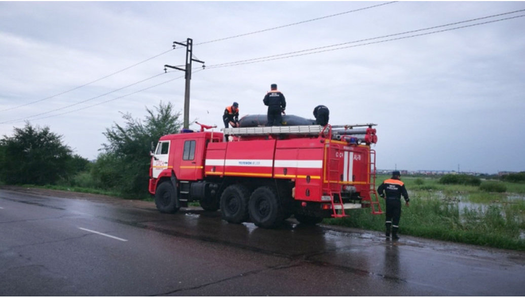 Более 200 жителей поселка в Красноярском крае эвакуированы из-за паводка
