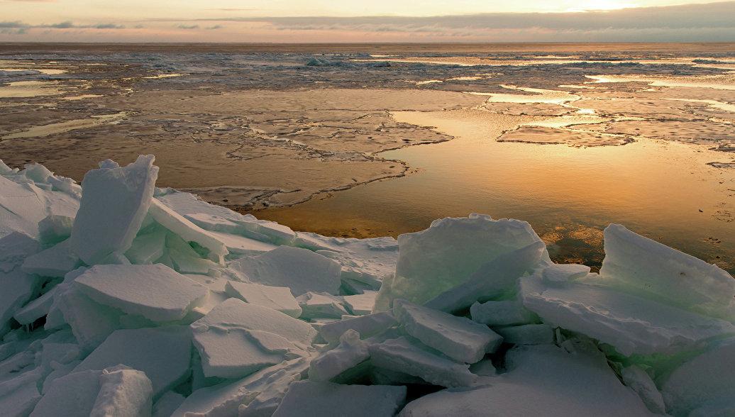 В Охотском море спасли 16 застрявших на льдинах рыбаков