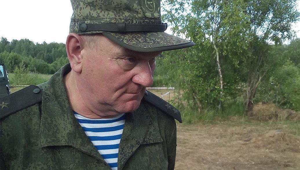 Замкомандующего ВДВ отметил выучку 31-й десантно-штурмовой бригады