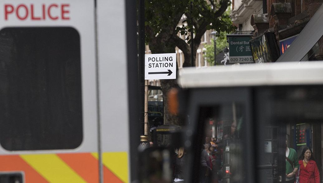 В Лондоне неизвестные облили троих мужчин кислотой