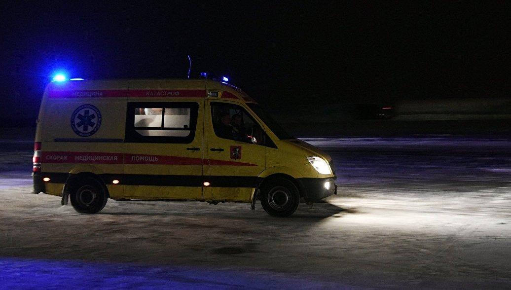 В Приморском крае семь человек пострадали при столкновении четырех машин