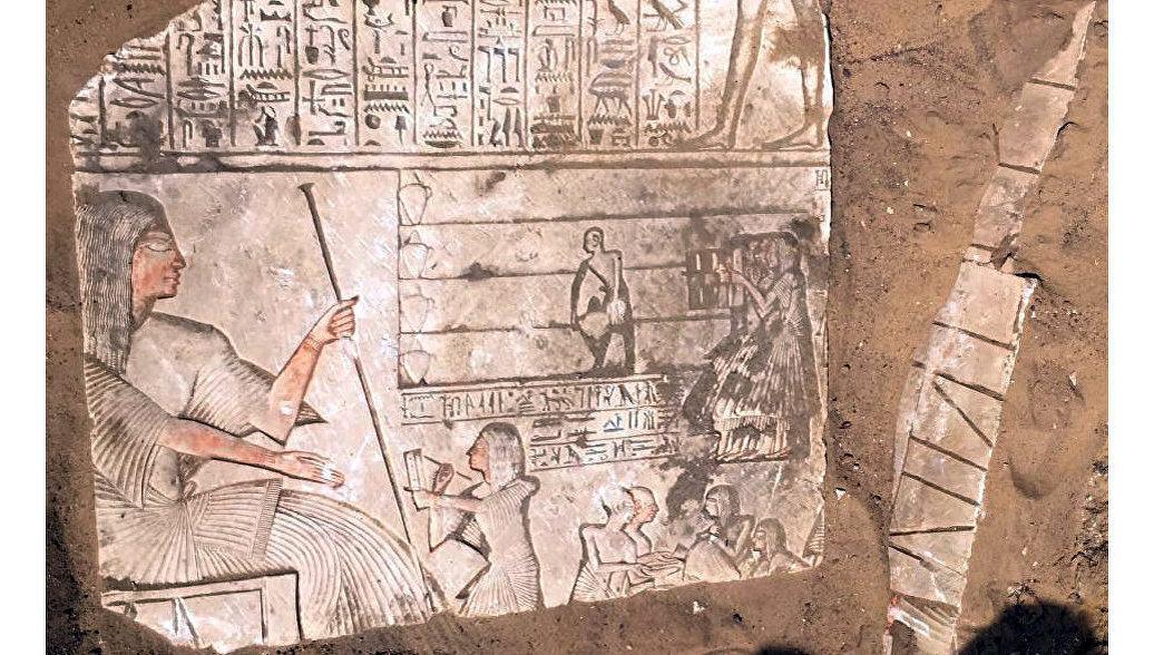 Археологи нашли в Египте гробницу
