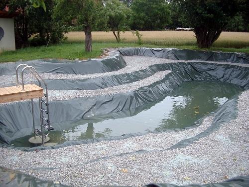 Пленка для водоемов и прудов
