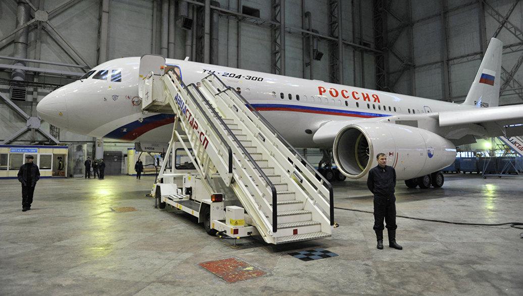 Ту-204-300 для Центра подготовки космонавтов проходит летные испытания