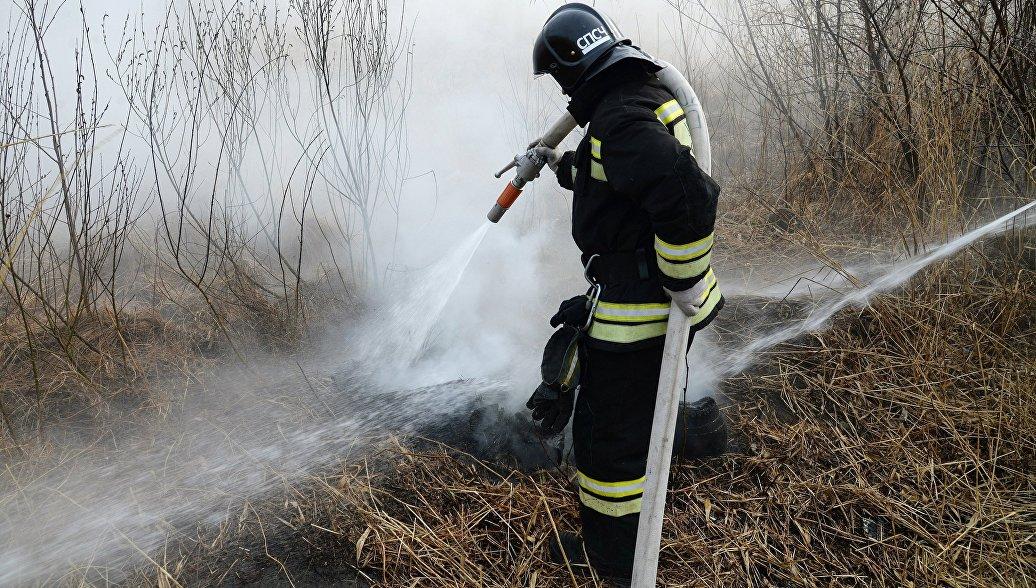 В национальном парке в Бурятии потушили пожар площадью 45 гектаров