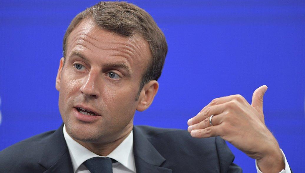 Итальянский вице-премьер назвал Макрона наглецом