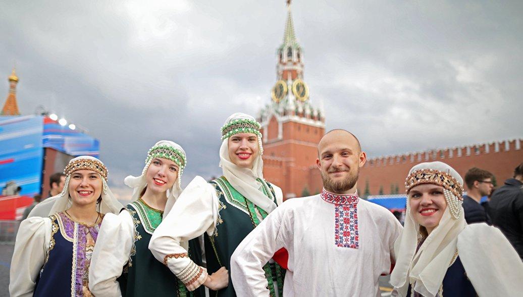 Более шести миллионов человек приняли участие в праздновании Дня России