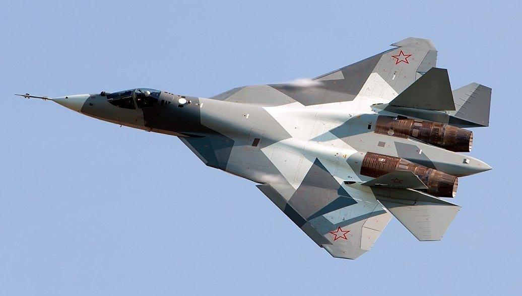 Заключен первый контракт на поставку истребителей Су-57