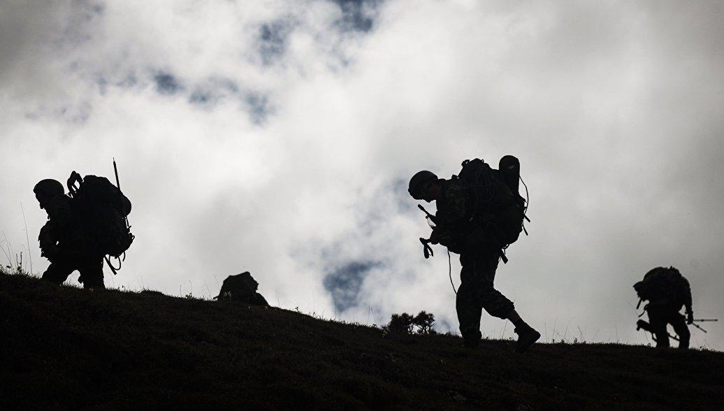 Военные ЮВО поразили радиоуправляемые мишени на учениях в Южной Осетии